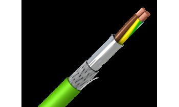 Безгалогенный экранированный гибкий кабель Toxfree ZN-RC4Z1-K
